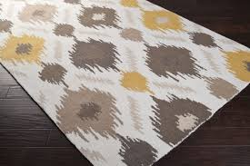 fancy idea yellow and white area rug nice design grey gy vibrant gray handtufted rugs decoration light mustard black turquoise blue lemon wool throw
