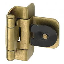 Double Demountable Cabinet Hinges Double Demountable Cabinet Hinge 3 8 Inset Set Of 2 Hardware