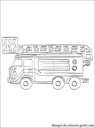 Disegno Camion Dei Pompieri Da Stampare Disegni Da Colorare Gratis