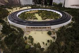 this room sized mock up of the planned apple headquarters in cupertino was released apple head office london