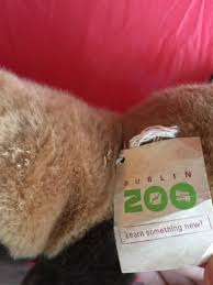 bnwt new soft toy from dublin zoo