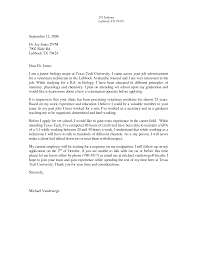 Vet Cover Letter 19 Veterinary Assistant Sample Nardellidesign Com