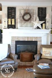 decorating old fireplaces best 25 farmhouse fireplace mantels ideas on brick small home decor inspiration
