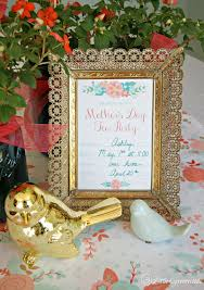 Tea Party Free Printables Mothers Day Tea Party Invitation Free Printables