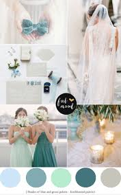 Shades Of Green Wedding Colour Palette Enchanted Colour