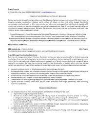 Resume Template Simple Impressive Construction Resume Examples Elegant Construction Resume Templates