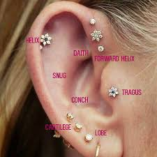 Ear Piercing Chart 16 Images To Screengrab If Youre Planning A New Ear
