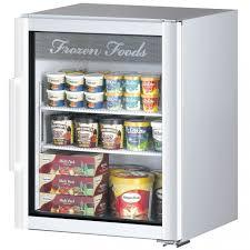 turbo air tgf 5sd super deluxe glass merchandiser counter top freezer