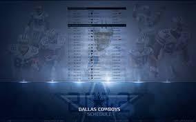 schedule wallpaper dallas cowboys forum cowboyszone