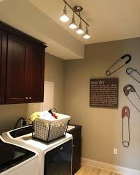 Laundry Lighting Ideas New Light Fixture For A Quick Laundry Room Facelift