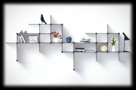 customizable up the wall shelves from bent hansen