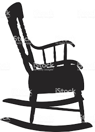 rocking chair silhouette. Modren Silhouette Rocking Chair Silhouette Royaltyfree Rocking Chair Silhouette Stock Vector  Art U0026amp More Images For