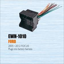 compare prices on ford radio wiring online shopping buy low price plugs into factory harness for ford focus 2005~2012 radio power wire adapter