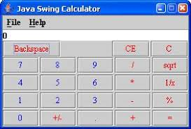java swing calculator wideskills java simple calculator