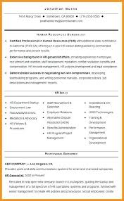 Hr Generalist Resume Hr Generalist Resume Sample Hr Generalist