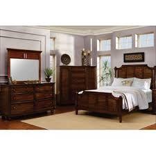 tropical bedroom furniture. Khang Shutter Wood Panel Piece Bedroom Set Throughout Tropical Furniture