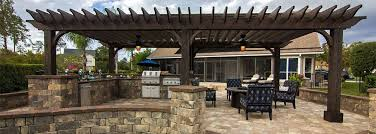 Outdoor Kitchen Designs With Pool Magnificent Nacogdoches Outdoor Kitchens Longview Fireplaces Fire Pits