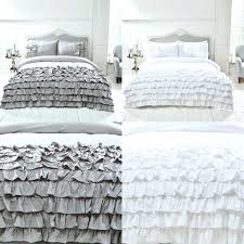 blue ruffle bedding gray ruffle bedding medium size of black duvet cover blue ruffle bedding gray ruffle comforter quilt purple and blue ruffle bedding