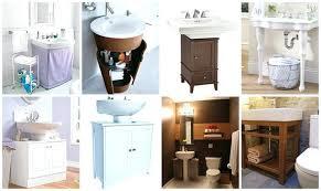 bathroom pedestal sink storage. Fine Bathroom Impressive Pedestal Sink Storage Cabinet Under  For Bathroom Attractive In A