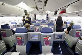 76w aircraft seating elegant delta one business cl on the 767 300er between atlanta and