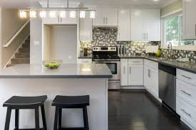 view in gallery l shaped kitchen