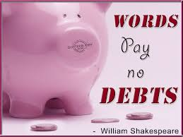 Image result for pay your debts quotes