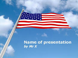 American Flag Powerpoint American Usa Flag Powerpoint Template