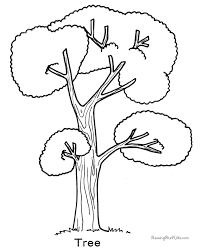Small Picture Tree coloring page 007