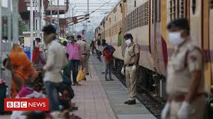 Indian migrant deaths: 16 sleeping workers run <b>over</b> by <b>train</b> - BBC ...