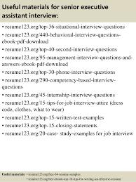 top senior executive assistant resume samples 12 useful materials for senior executive assistant interview