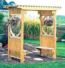 garden arbor trellis arbors and trellises fence plans diy ga garden arbor