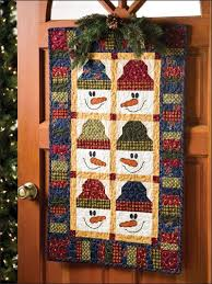 855 best CHRISTMAS Quilts images on Pinterest & Winter Friends like the border and the snowmen Adamdwight.com