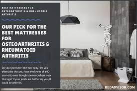 11 best mattresses for osteoarthritis