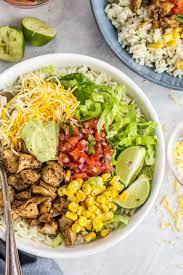 🥇 ▷ Chipotle Chicken Burrito Bowl ...