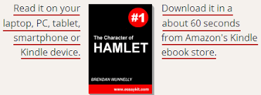 hamlet character analysis word sample essays the character of hamlet in shakespeare s play essay kit ebook on kindle