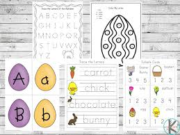 Phonics worksheets what sounds do you hear? Free Easter Printable Pack