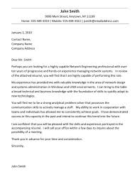 Engineering Cover Letter Examples Internship Under