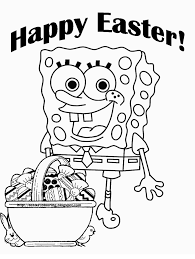 Nickelodeon Easter Coloring Pages Happy Easter 2018