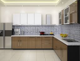 spacious small kitchen design. As We Are Talking About The Small Space Kitchen Design Ideas So Let Us Put Some Light On Straight And L-shaped Designs. Spacious H