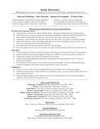 Cv Objective Examples Sales Resume Sle Sales Associate Exles