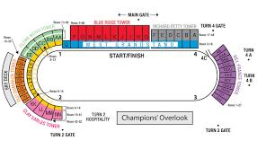 Homestead Seating Chart Maps Martinsville Speedway