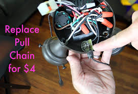 ceiling fan light repair save 90 in 10 minutes home repair tutor replace pull chain