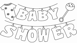 The most common baby shower coloring material is paper. Coloring Book For Baby Awesome Free Printable Baby Shower Coloring Pages Free Baby Shower Printables Baby Shower Printables Baby Coloring Pages