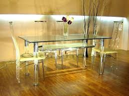 dinette table and chairs clear acrylic dining tables round kitchen sets set for 6 black room