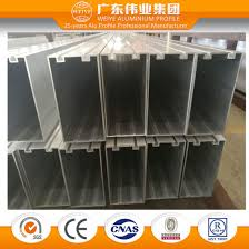 invisible frame aluminum curtain wall of pillar extrusion