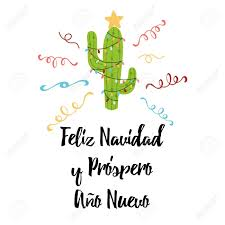 Merry Christmas Banner Print Merry Christmas Banner Happy Cactus In A Christmas Garland Stock