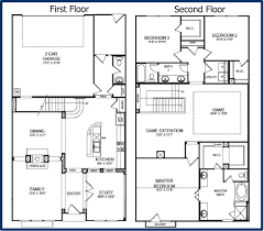 house floor plan. 2 Story House Floor Plan Small Home Decoration Ideas Best On