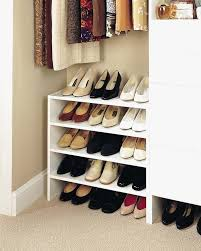 diy shoe rack for small closet stylish decoration shoe rack for closet