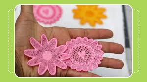 Free Standing Lace Embroidery Designs Free Beginner Machine Embroidery Project 2 Free Standing Lace Tutorial