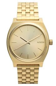 nixon the time teller watch 37mm nordstrom